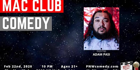 Mac Club Comedy tickets