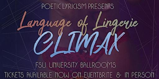 Language of Lingerie: CLIMAX
