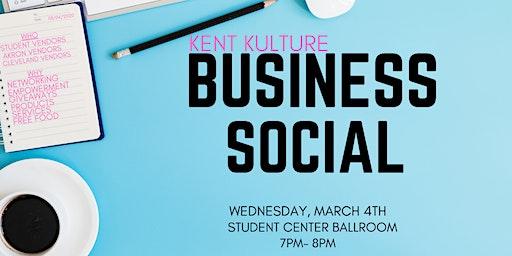 Kent Kulture's Business Social