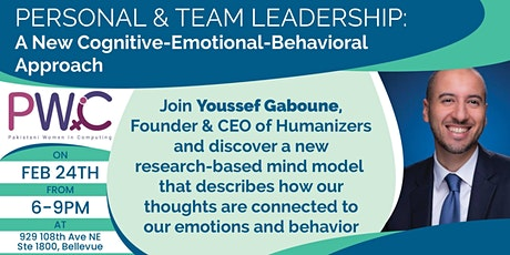 Personal & Team Leadership: A New Cognitive-Emotional-Behavioral tickets