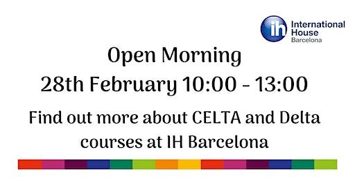 Teacher Training Open Morning February 28th