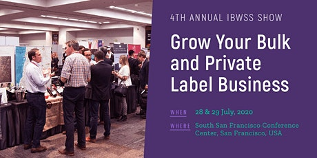 2020 International Bulk Wine and Spirits Show - Exhibitor Registration (San Francisco) tickets