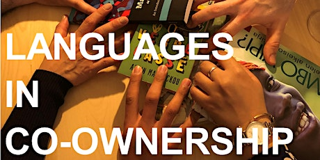 """Study day """"Languages in co-ownership"""" tickets"""