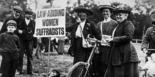 Cycles & Suffragettes #ProvoWomensDay2020