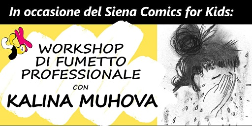 Workshop di Fumetto Professionale con Kalina Muhova