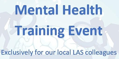 Mental health training day tickets