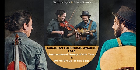 Tuesday Nov 24th - Fiddle & Guitar - Pierre Schryer & Adam Dobres - Gibsons tickets