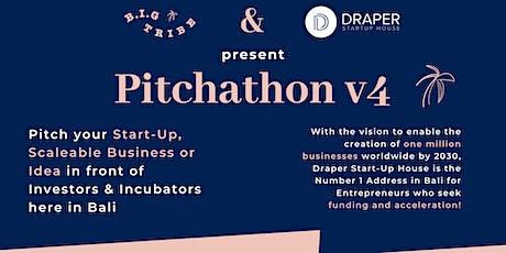 """Pitchathon v4 by """"B.I.G Tribe"""" & """"Draper Start-Up House"""" tickets"""