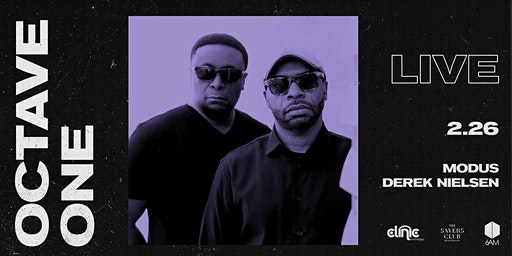 Clinic x 6AM presents: Octave One (Live)