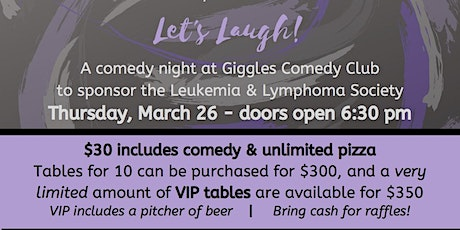Let's Laugh & Fight Cancer tickets