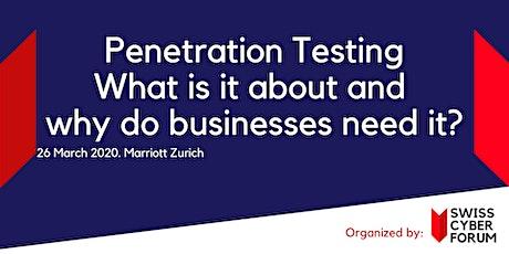 Penetration Testing Workshop Tickets