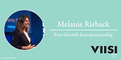 Viisi Talks | Melanie Rieback | Post-Growth Entrepreneurship tickets
