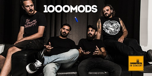 "1000MODS + support ""Youth of Dissent European Tour 2020"""