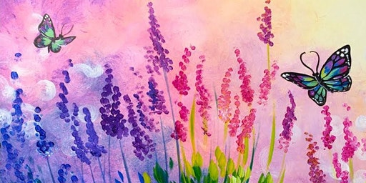 Coffee & Canvas Monday - Learn to paint 'Wildflower Butterflies' @ The COFFEE CLUB  Birtinya