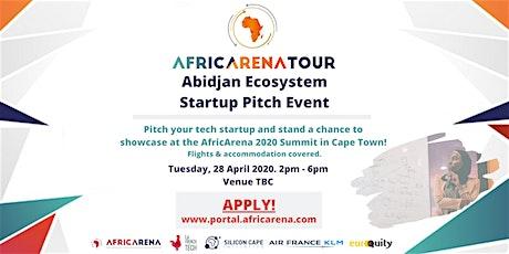 Abidjan Startup Pitch Event - AfricArena Tour 2020 tickets