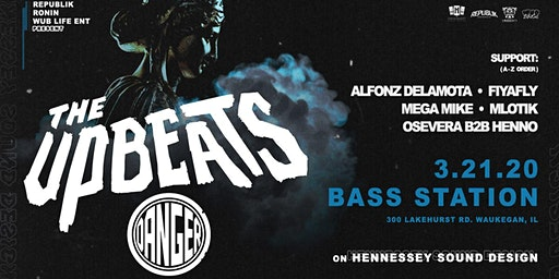 The Upbeats // Danger [at] Bass Station 3/21