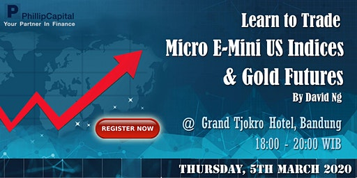 Learn to Trade Micro E-Mini US Indices & Gold Futures