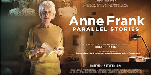 Anne Frank: Parallel Stories - Sat 21st March - Perth