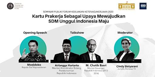 Kartu Prakerja sebagai Upaya Mewujudkan SDM Unggul Indonesia Maju