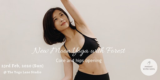 New Moon Yoga with Forest @ The Yoga Lane Studio