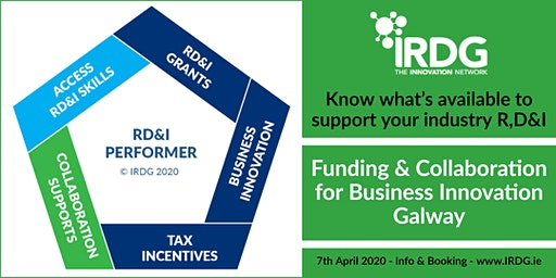 IRDG Funding & Collaboration for Business Innovation, Galway
