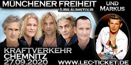 Münchener Freiheit Jubiläumstour & Markus (Ich will Spaß)