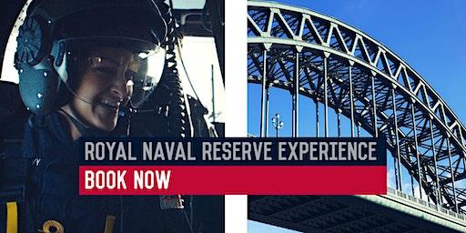 Royal Naval Reserve Experience – HMS Calliope, Tyneside – 04/03/2020
