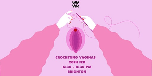 Viva la Vulva! Vagina themed Crocheting with  Sanna Suvvi
