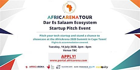 Dar Es Salaam Startup Pitch Event - AfricArena Tour 2020 tickets