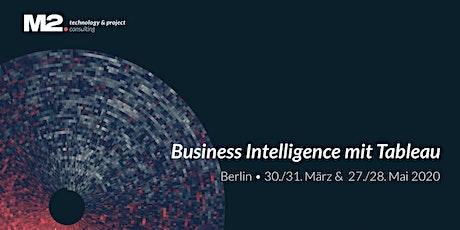 Classroom Training: Business Intelligence mit Tableau - BERLIN 27./28.05. Tickets