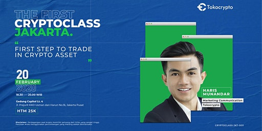 CryptoClass #1 Jakarta