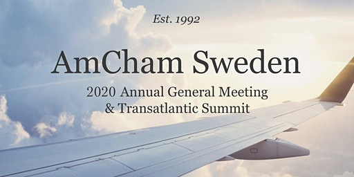 AmCham Sweden 2020 Annual General Meeting & Transatlantic Summit