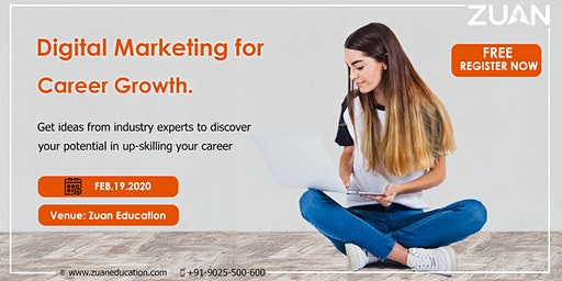 Digital Marketing for Career Growth.