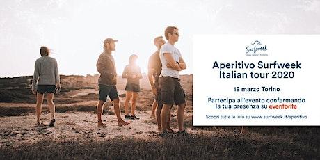 Aperitivo itinerante Surfweek Torino biglietti