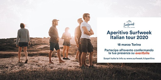 Aperitivo itinerante Surfweek Torino