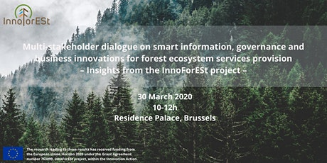 Multi-stakeholder dialogue : Insights from the InnoForESt project tickets