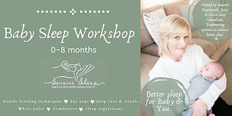 Baby Sleep Workshop    0-8 months tickets