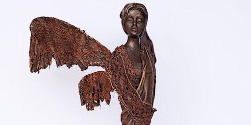 Mixed Media Workshop using Powertex - Angel, Fairy of African Lady