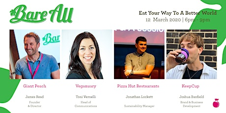 BareAll: Eat Your Way To A Better World tickets
