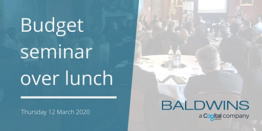 Budget 2020 seminar over lunch