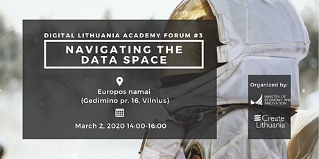 Digital Lithuania Academy Forum: Navigating the Data Space tickets