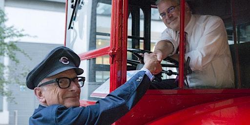 Sir Peter Hendy Bus Tour with Jo Negrini