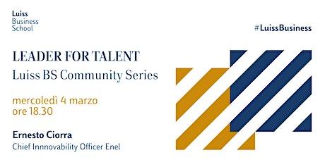 Leader for Talent - Luiss Business School Community biglietti