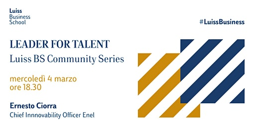 Leader for Talent - Luiss Business School Community
