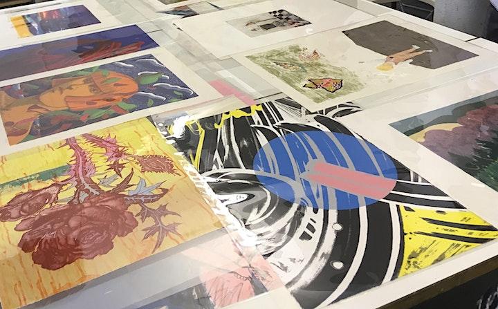 Print Study Afternoon: Screenprint Focus image