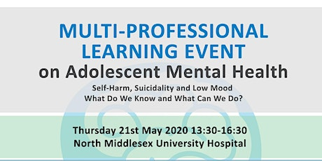 Multi-Professional Learning Event on Adolescent Mental Health  tickets