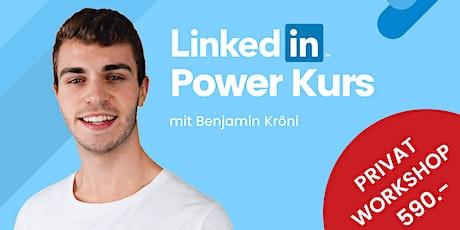 LinkedIn Powerkurs -  Privat Workshop Tickets