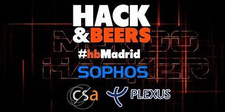 Hack & Beers Madrid - Vol 16 entradas