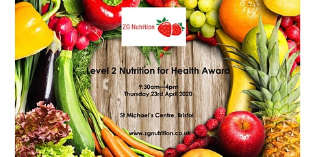 Nutrition for Health Level 2 Award - RSPH tickets