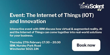 IoT and Innovation with IBM tickets